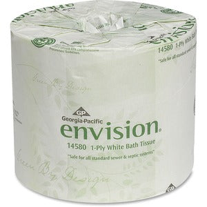 Georgia Pacific Envision 1 Ply Bath Tissue (80 Rolls of 1210 Sheets)