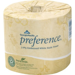 Georgia-Pacific Preference Embossed Bath Tissue (Carton of 8 Rolls)