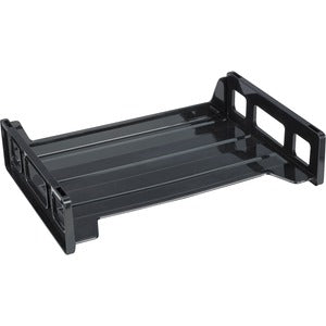 Business Source Side-loading Stackable Letter Trays