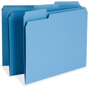 Business Source Color-coding Top Tab File Folder (Box of 100)