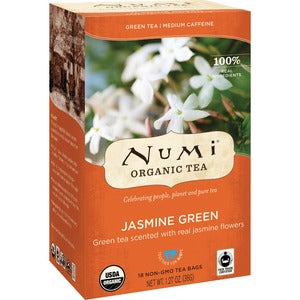 NUMI Organic Jasmine Green Tea (Box of 18)