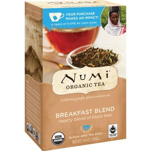 NUMI Morning Rise Black Organic Tea (Box of 18)