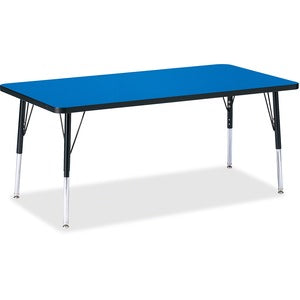 Berries Elementary Height Color Top Rectangle Table
