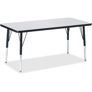 Berries Elementary Height Color Edge Rectangle Table