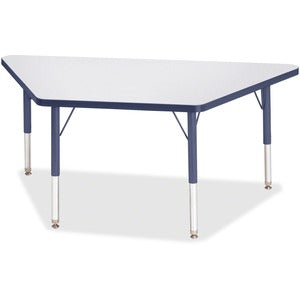 Berries Toddler-sz Gray Top Trapezoid Table