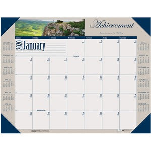 Doolittle Earthscapes Motivational Desk Pad
