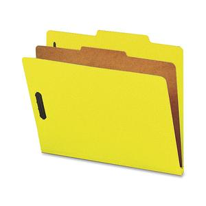 Nature Saver 1-Dvdr Recycled Classificatn Folders (Box of 10)
