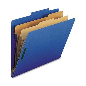 Nature Saver 2-Dvdr Letter Classification Folders (Box of 10)