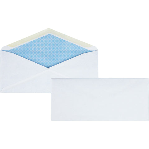 Business Source No.10 Regular Tint Security Envelopes (Box of  )
