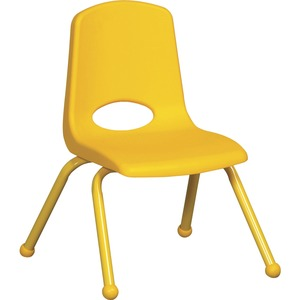 "ECR4KIDS 10"" Stack Chair, Matching Legs (Carton of 6)"