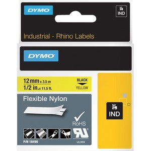 Dymo Rhino Flexible Nylon Labels