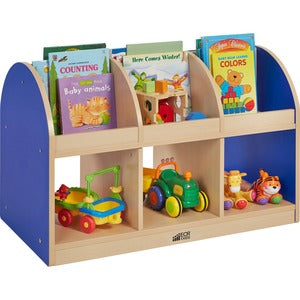 ECR4KIDS 2-sided Toddler Book Stand