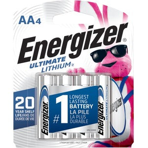 Energizer Ultimate L91SBP-4 General Purpose Battery (Pack of 4)