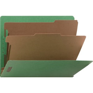 Nature Saver Recycled End Tab Classificatn Folders (Box of 10)