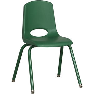 "ECR4KIDS 16"" Stack Chair, Matching Legs (Carton of 6)"