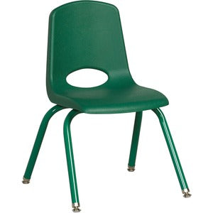 "ECR4KIDS 14"" Stack Chair, Matching Legs (Carton of 6)"