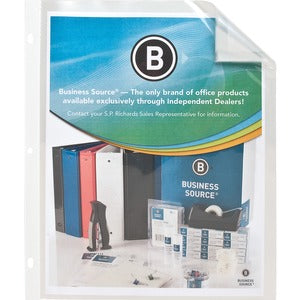 Business Source Ten Pkt Top Loading Sheet Protectors