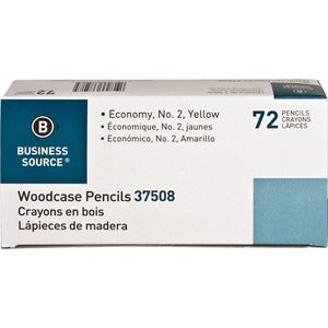 Business Source Woodcase No. 2 Pencils (Box of  )