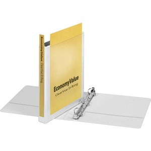 Cardinal EconomyValue ClearVue Slant-D Ring Binder