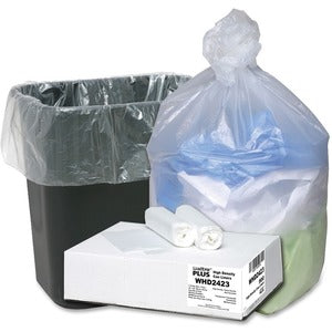 Webster Ultra Plus Trash Can Liners (Carton of 500 Bags)
