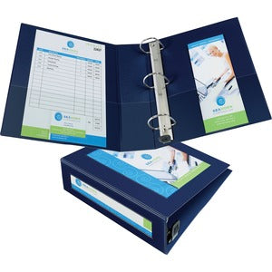 "Avery Framed View 1-Touch EZD Locking Ring Binders - 3"" Ring - 670 Sheet Capacity"
