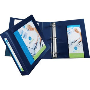 "Avery Framed View 1-Touch EZD Locking Ring Binders - 2"" Ring - 540 Sheet Capacity"