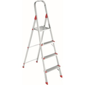 Louisville 4' Alum Platform Step Ladder