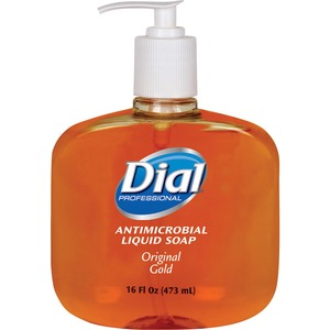 Dial Original Gold Antimicrobial Liquid Soap (Carton of 12)