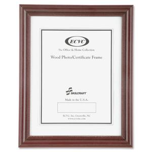 SKILCRAFT Cherry Wood Frames (Pack of 12)