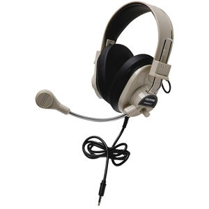 Califone Deluxe Stereo Headset With To Go Plug
