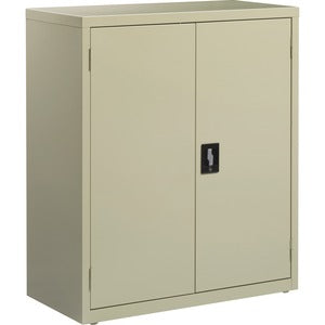 Lorell Fortress Series Putty Storage Cabinets