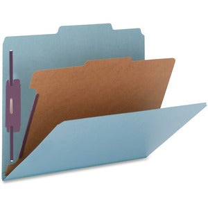 Nature Saver Colored 1-Div Legal Clssfcatn Folders (Box of 10)