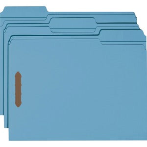 Smead Recycled 1/3 Cut Fastener File Folders (Box of 50)