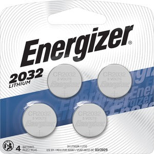 Energizer 2032 Watch/Electronic Batteries (Pack of 4)