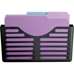 Lorell Plastic Cubicle Pocket File