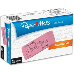Paper Mate Pink Pearl Eraser (Box of 36)