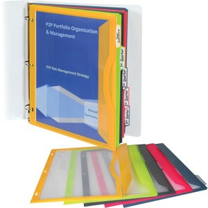 C-Line Poly Binder Pockets (Set of 5)