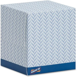 Genuine Joe 2 Ply Cube Box Facial Tissue (36 Boxes of 85 Sheets)