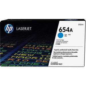 HP 654A Original Toner Cartridge - Single Pack