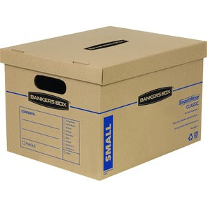 Fellowes Lift-Off Lid Classic Small Moving Boxes (Pack of 10)