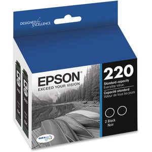Epson DURABrite Ultra Ink T220 Original Ink Cartridge (Pack of 2)