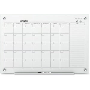 Quartet Infinity™ Glass Magnetic Calendar Board