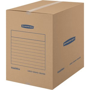 Bankers Box SmoothMove Basic Moving Boxes, Large (Carton of 15)