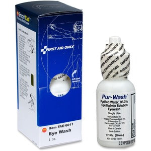 First Aid Only Pur-Wash Eyewash (Box of 1)