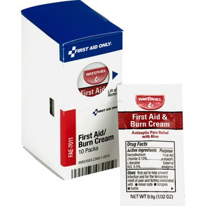 First Aid Only First Aid Burn Cream Packets (Box of 1 Pack)