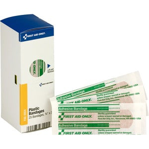 "First Aid Only 3"" Plastic Bandages (Box of 25)"