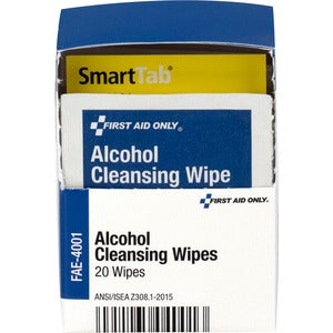 First Aid Only Alcohol Cleansing Pads (Box of 2)