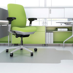 Deflect-O Hard Floor EnvironMat Recycled Chairmat