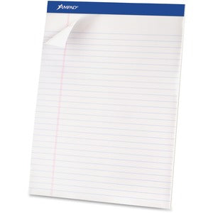 Ampad Basic Perforated Writing Pads (Pack of 12)