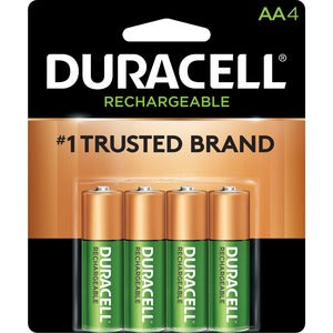 Duracell StayCharged AA Rechargeable Batteries (Pack of 4)